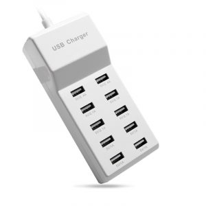 10 Ports USB Fast Charger and Smart Recognition