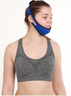 Adjustable Anti-Snoring Chin Strap Sleep Aid Device