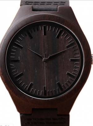 Business Men Wooden Watch