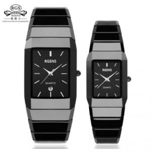 Classic Black Ceramic Fashion Watch 3