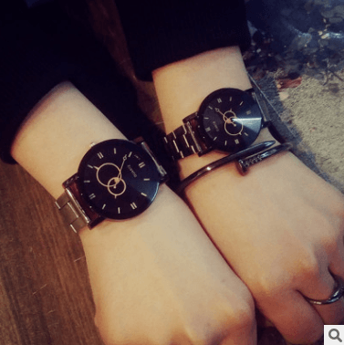Classic Steel Belt Personality Quartz Watch