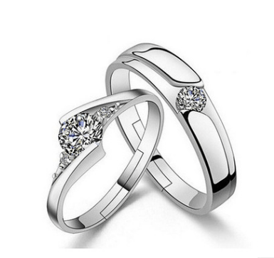 Couple Adjustable Engagement Rings