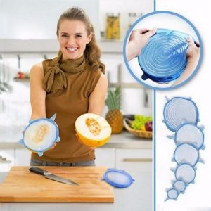 Food Preservation Silicone Stretch Lids