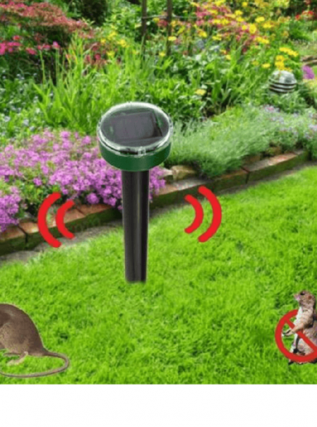 Ultrasonic Solar Pest Control