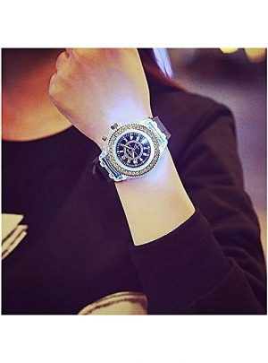 Fashion Geneva Luminous Led Waterproof Quartz WristWatch