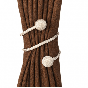 Modern Minimalist Curtain Rope With Free Style -round