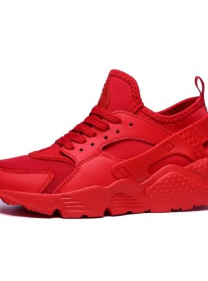Mesh Breathable Woven Casual Sports Shoes