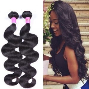 10A 16inch Virgin Human Hair Body Wave Natural Black
