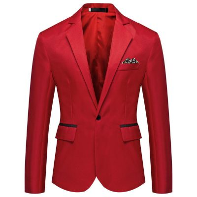 One Button Fashion Business Jacket