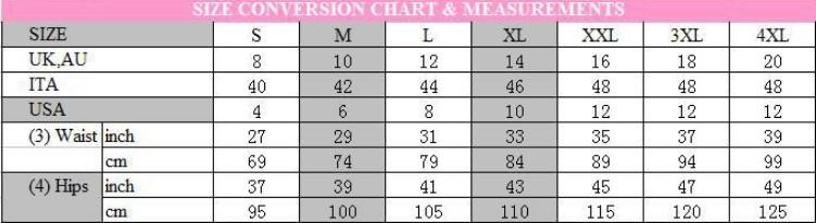Hot New High Waist Stretch Slim Denim Pants size chart