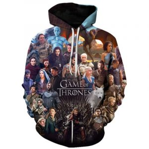 Exclusive Right Game of Thrones Hoodie Pullover