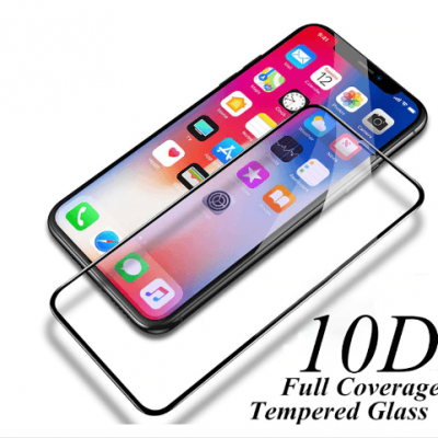 10D Protective Glass on the For iPhone XR X XS MAX Glass full cover for iPhone XsMax Screen Protector Tempered Glas front film