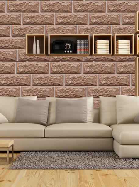 3D Decorative Clay Wallpaper