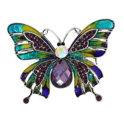 Beautiful Butterfly Drip Brooch