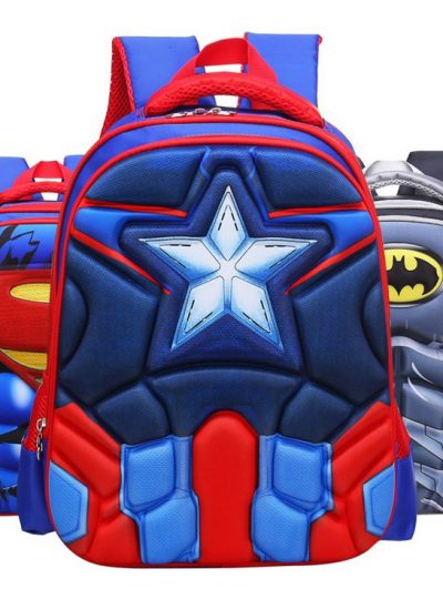 Comic Superhero School Bags