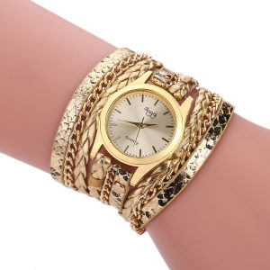 Ladies Winding Bracelet Quartz Watch
