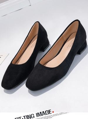Suede Shoes- black