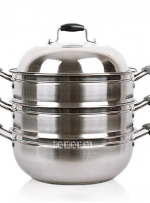High-quality Three-Layer Stainless Steel Steamer