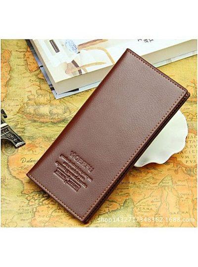 Men & Women Luxury Leather Wallet Gift