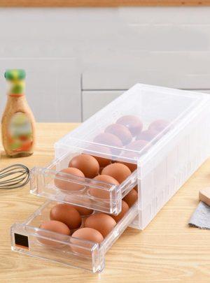 New 24 Grid Anti-Collision Egg Storage Box