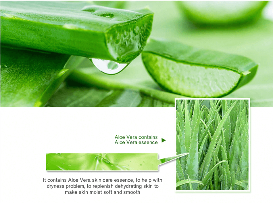 Natural Aloe Vera skin care